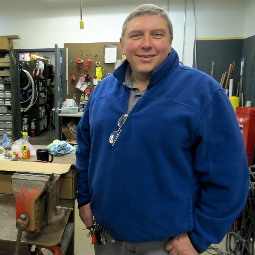 Gregory S. Finch enjoys helping others as Maintenance Supervisor.