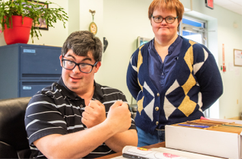 Adults with significant disabilities feeling empowered in Life Skills program.